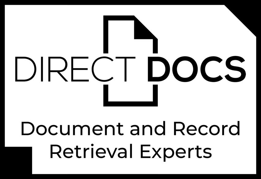 Financial and Medical Record Retrieval Logo