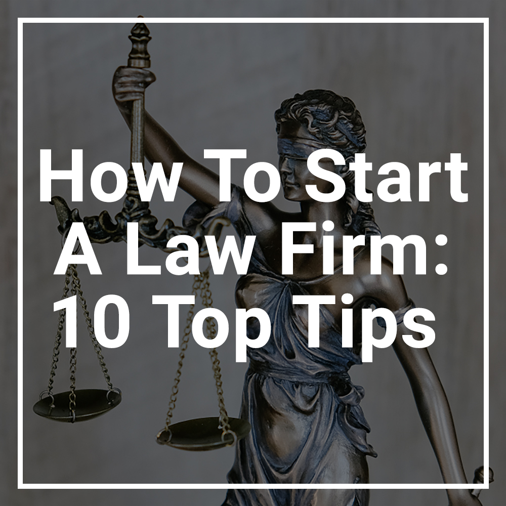 How To Start a Law Firm featured image